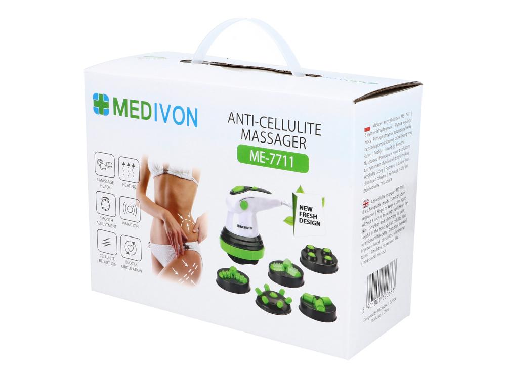 Masażery ręczne, antycellulitowe | Masażer wielofunkcyjny do pleców i ciała Medivon